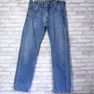 Levis Red Tab 505 Classic Straight Leg Jeans